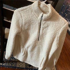 A&F Sherpa pullover